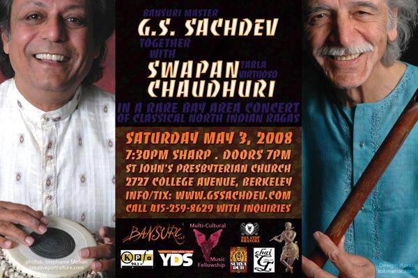 Sachdev concert flyer back
